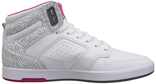 Femme Mode Dc Blanc Rosa Alti Cesti Shoes bianco Nyjah FF4q6X