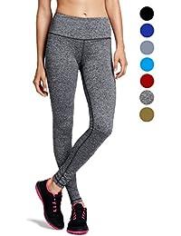 dh Garment Legging de Sport Femme Taille Haute avec Poche Pantalon  Amincissant pour Yoga Gym Fitness 72a5d111a83