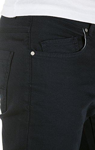Yazubi Herren Chino Hose Edoardo gemustert skinny fit (ggf. eine Nummer größer bestellen) Blau (SALUTE 194011)