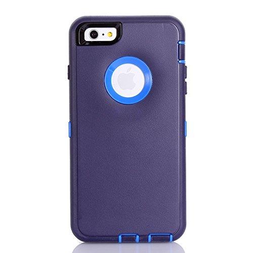 Phone case & Hülle Für IPhone 6 Plus / 6s Plus, 3 In 1 Hybrid Silikon & Kunststoff Schutzhülle ( SKU : S-IP6P-2625P ) S-IP6P-2625U