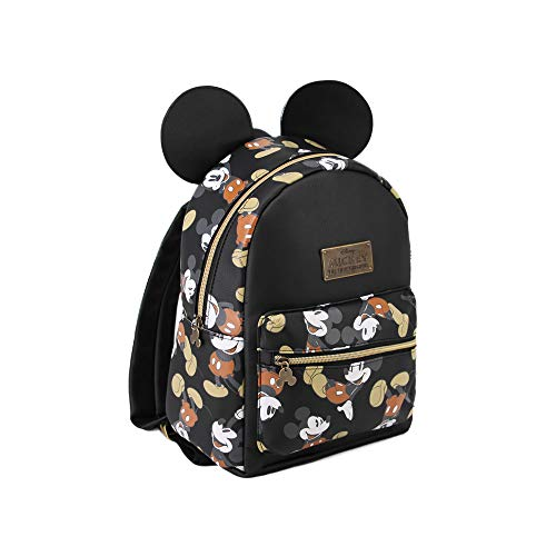Karactermania Mickey Mouse True Mochila Tipo Casual, 27 cm, 7.5 litros