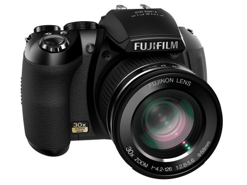 Fujifilm Finepix HS10 Digitalkamera (10 Megapixel, 30-fach opt.Zoom, 7,6 cm Display, Bildstabilisator) schwarz