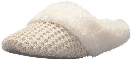 Mütter Haferflocken (Dearfoams Abgewischte Geschlossene Schuhe für Frauen S Medium US Haferflocken Heather)
