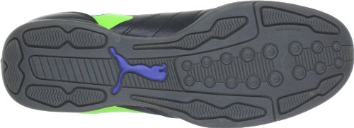 Puma  PowerCat 4 IT, Chaussures indoor homme Noir - Schwarz (black-jasmine green-monac 01)