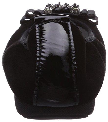 Diavolezza Isolde, Ballerines femme Noir - Noir