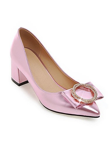 WSS 2016 Chaussures de mariage-Noir / Rose / Rouge / Argent-Mariage / Soirée & Evénement / Habillé-Talons / Nouveauté / Bout Pointu-Chaussures à 2in-2 3/4in-pink