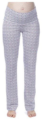 Noppies Umstands-Loungehose Pyjama Hose Damen Umstandsmode Nachtwäsche 20550 L