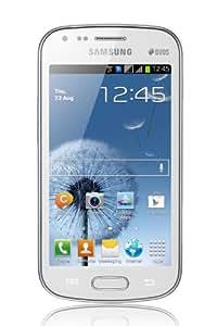 Samsung Galaxy S Duos Smartphone, Dual SIM, Bianco [Europa]