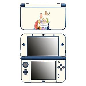Disagu SF-106243_1095 Design Folie für New Nintendo 3DS XL – Motiv Flamingo Muster gelb transparent