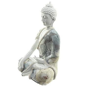 Decorativo floral Relajación figura decorativa de Buda 4