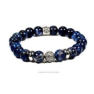 Perlenarmband Natur Sodalith Perlen Beads R Bracelet
