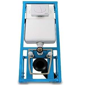 aquamarin b ti support wc avec r servoir m canisme de chasse d 39 eau encastrable. Black Bedroom Furniture Sets. Home Design Ideas