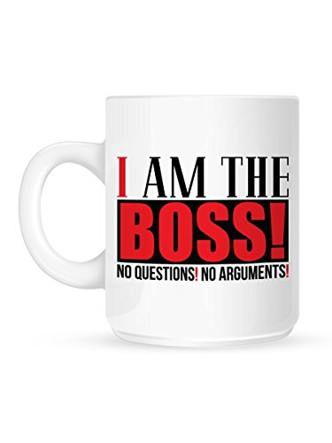 Tasse I Am The Boss blanc