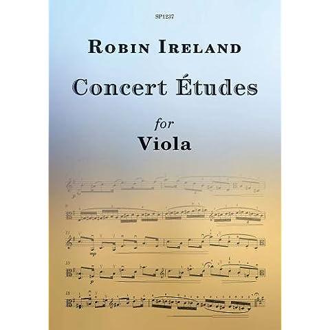 Concert Etudes for Viola - Viola - Book