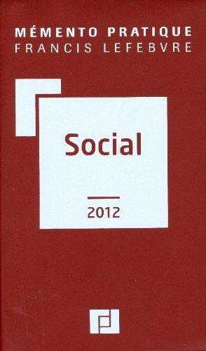 MEMENTO SOCIAL 2012 PDF Books