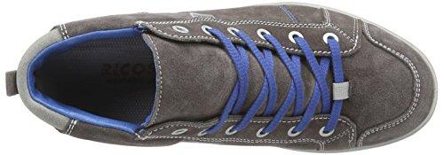 Ricosta Franjo Jungen Hohe Sneakers Grau (meteor 460)