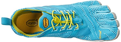 Vibram Five Fingers Kmd Evo, Chaussures Multisport Outdoor Femme Multicolore (Light blue/grey/yellow)