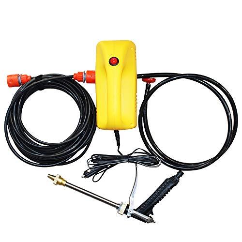 KJRJG Multifunktions-Hochdruckreiniger Pumpe Bewegliche Hochdruckreiniger Hochdruckreiniger Pumpen Elektro-Auto-Wäsche-Reisen/Außenreinigung Haushalt Auto-Reinigungsmittel 12V / 220V / 80W