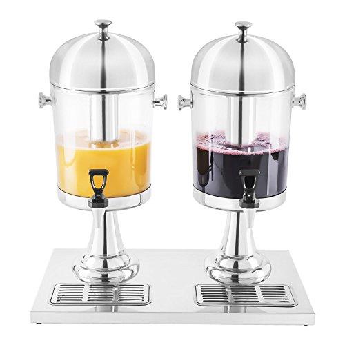 Royal Catering - RCSD-2 - Dispensador de bebidas frías 2 x 7 litros - Envío Gratuito