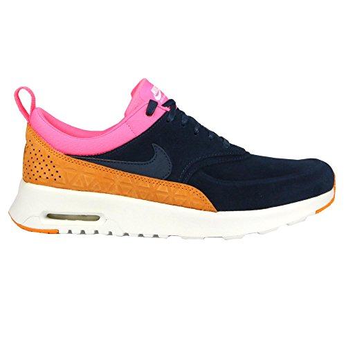 Nike 845062-400, Chaussures de Sport Femme, Gris Bleu