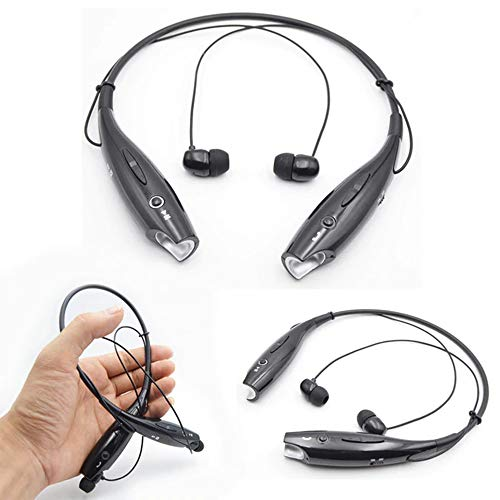 Sketchfab HBS-730 Neckband Bluetooth Headphones Wireless Sport Stereo Headsets Hands-Free with Microphone for all Smartphone Image 2