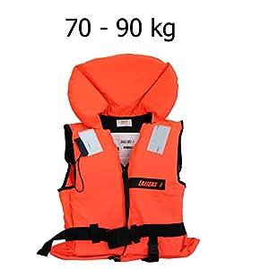 Rettungsweste Schwimmweste ISO 12402-4 Feststoffweste 100 Newton - MM Exclusiv