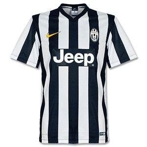 2014-2015 Juventus Home Nike Supporters Tee White