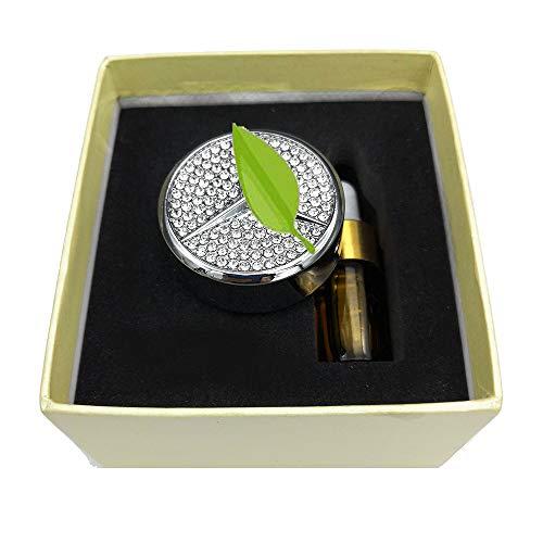 VILLSION Original Auto Duft Lufterfrischer Vent Clip Luftreiniger Duftspender fürs Fahrzeug Parfüm Solides Autoduft mit Geschenk-Box -