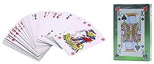 sans marque Juegos De Cartas De Tarjetas 9824204-Juego De 2 manteles Individuales tafetán plastificado