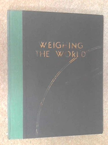 Weighing The World: An Impression After Two Hundred for sale  Delivered anywhere in UK