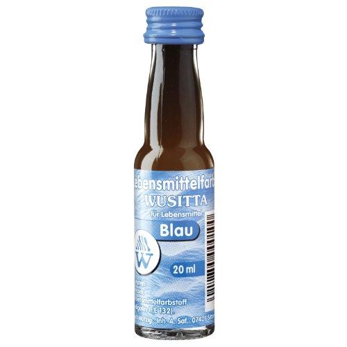 Wusitta - Lebensmittelfarbe Blau - 20ml