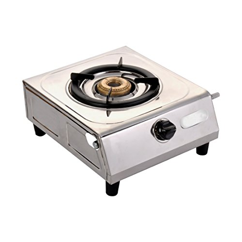 Surya Shining Flame Super Stainless Steel Automatic ignition1 Burner Gas Stoves. (One Burner).  available at amazon for Rs.999