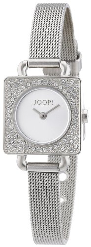 Joop Women's Quartz Watch Neoclassic Square JP100962F01 with Metal Strap
