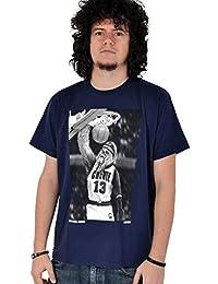 Star Wars - camiseta del wookiee Chewbacca haciendo un mate - de marca - diseño exclusivo - azul