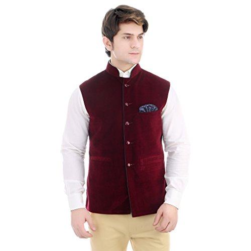 Mse Trendy Timeless And Versatile Velvet Nehru Jacket