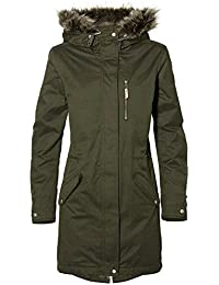 ONeill Relaxed Parka Chaqueta, Mujer, Verde Oscuro, Medium