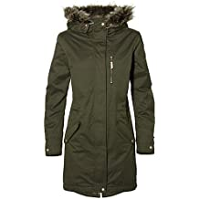 ONeill Relaxed Parka Chaqueta, Mujer, Verde Oscuro, Small