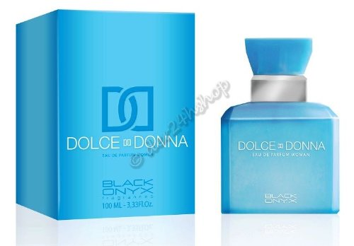 ONYX noir eAU dE paRFUM dOLCE dONNA «bLUE bOX for women 100 ml