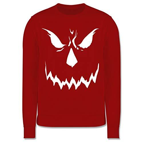Shirtracer Anlässe Kinder - Scary Smile Halloween Kostüm - 3-4 Jahre (104) - Rot - JH030K - Kinder Pullover