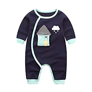Bebs-Pijama-Algodn-Mameluco-Nias-Nios-Pelele-Mono-Caricatura-Trajes-3-6-Meses