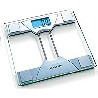 Pesaje, baño de peso corporal digital, báscula de pesaje, báscula con tecnología Step-On, básculas de baño de precisión digital, luz de fondo fácil de leer, ...