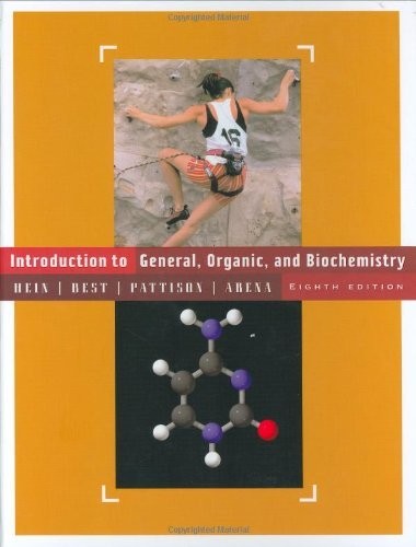 Introduction to General, Organic, and Biochemistry by Morris Hein (2004-03-16)