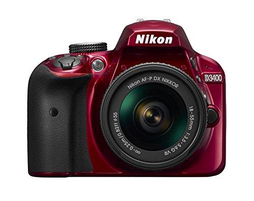Nikon D3400 Appareil Photo Numérique Réflex 24.2 Mpix Kit Objectif VBA491K001