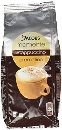 Jacobs Momente Cappuccino Kaffee, Nachfüllbeutel, 10er Pack (10 x 400 g)