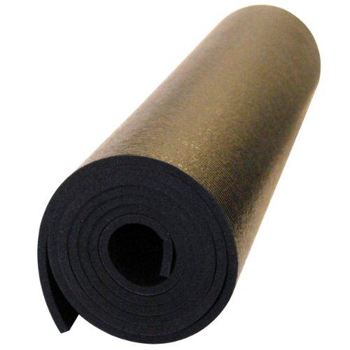 Ultra Premium Yoga Matte, schwarz ()