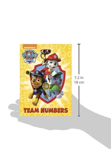 Team Numbers (Paw Patrol) (Nickelodeon Paw Patrol)