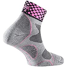 Lurbel - Socks Desafio Ice, color acid fucshia, talla L