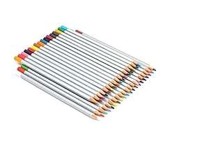 Ohuhu® 36-Colore Matite per Acquerello Professionale, Matite Colorate di Legno, Colori Assortiti, Regalo Ideale per Scuola