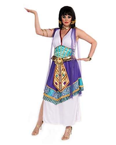 Korsett Plus Size Kostüm - Horror-Shop Ägyptische Cleopatra Kostüm XXXL -
