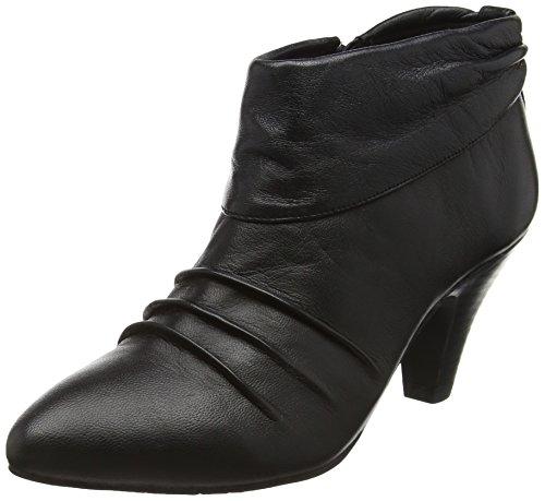 LotusHickory - Stivaletti donna , Nero (Black (Blk Leather)), 41